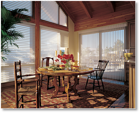 Hunter Douglas Luminette and Silhouette Blinds Omaha NE